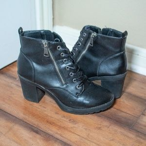 Ankle Hight Combat Boots